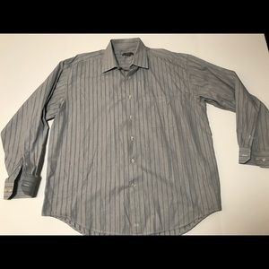 Johnston Murphy Button Down Shirt Men's XL